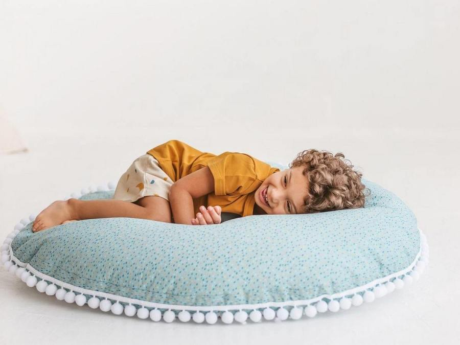 Whether you're upgrading your child's bedroom or just looking to add some color to his playroom, a new pillow can do the job.