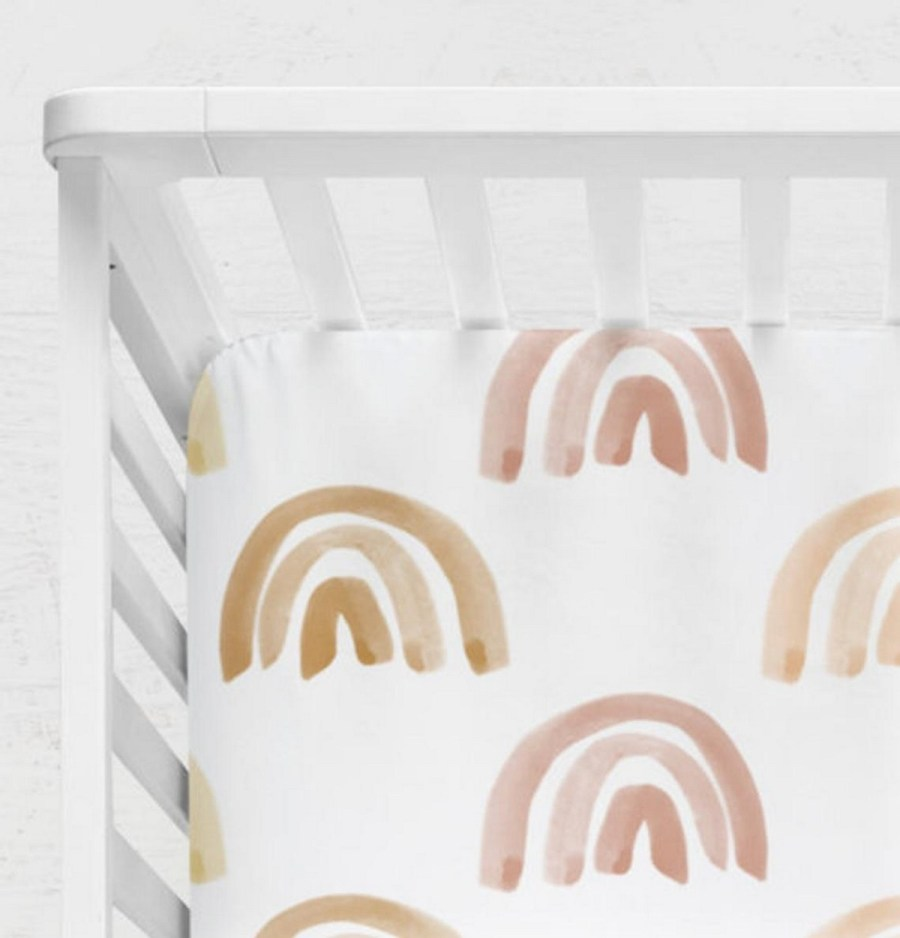When decorating a children's room, it is necessary to focus on safety. The safest sleeping set is a fitted sheet on a firm mattress for a crib with no other bedding, stuffed animals or decorations in the crib.