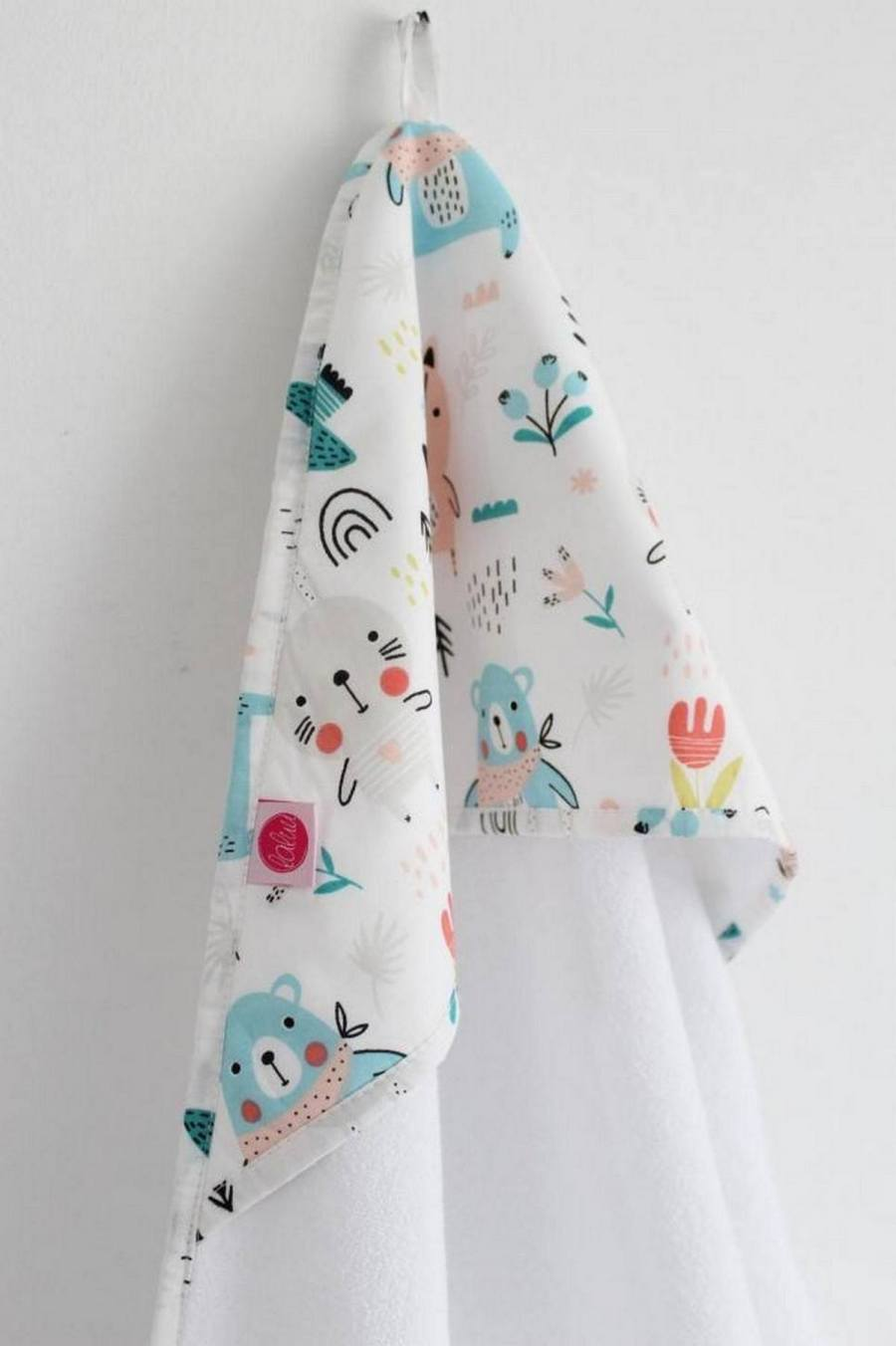 Babies get cold easily, which is why it's important to have a warm, cuddly baby towel ready and waiting for them as soon as their bath is finished.