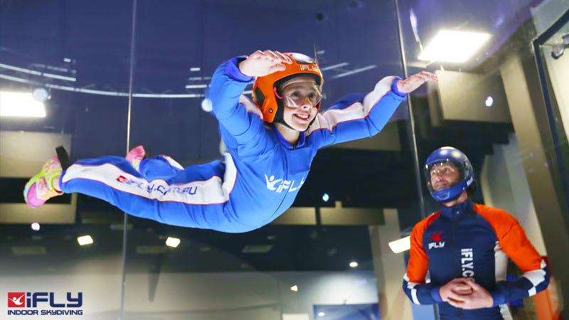 Indoor Skydiving Sydney IFly Intro Package 2 Flights