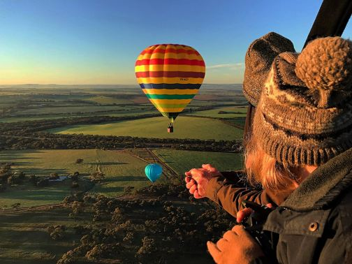 Image result for Take a Hot Air Balloon Flight