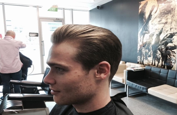 George Clooney Hairstyle