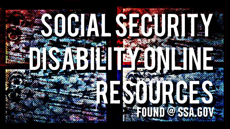 Social Security Disability Online Resources - What can you do on SocialSecurity.gov? FIle an applications for SSDI, start the appeals process for a denial letter and other things.