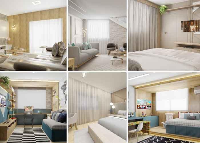 Larissa Reis escolhe cortinas