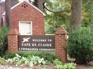 Cape St Claire