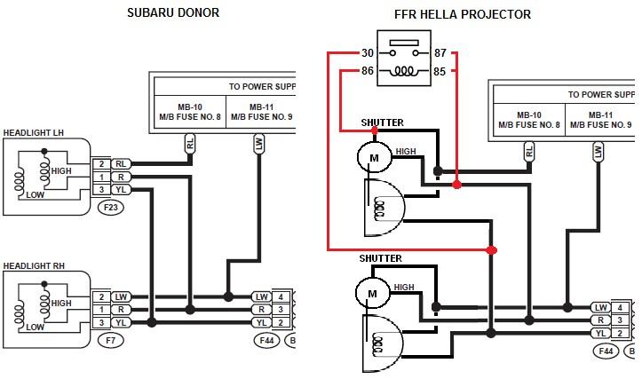 Wiring Diagram For Hella Spotlights