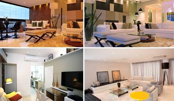Sala de estar por Flávia Campos