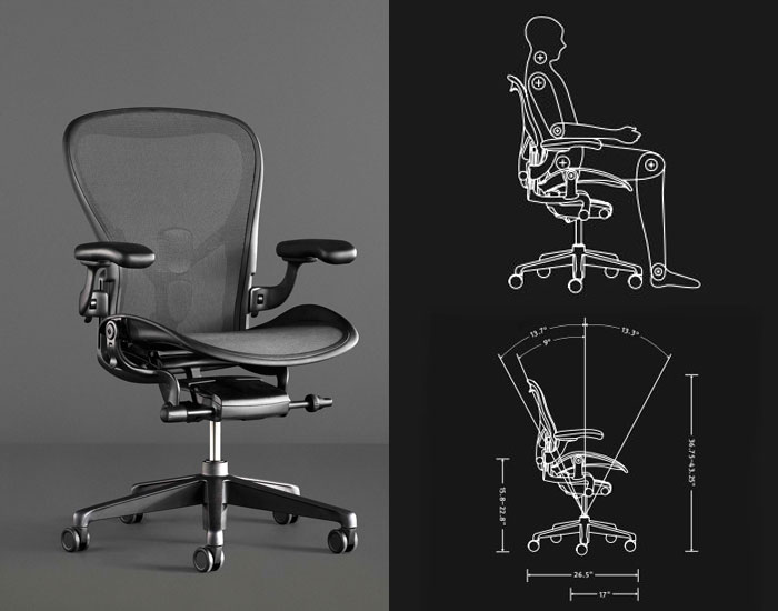 Aeron Gaming edition Herman Miller