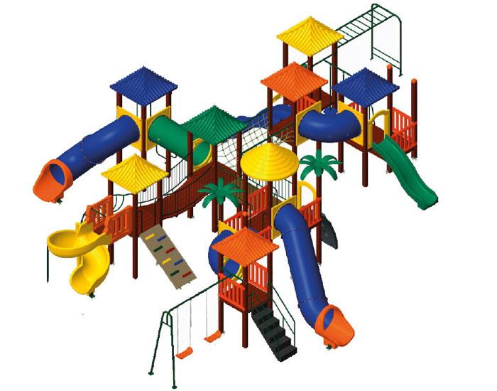 Brinquedos sustentáveis Nogueira para playground