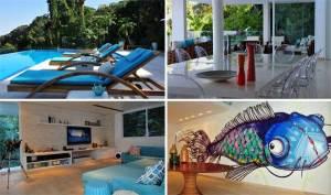 Casa de praia por Karina Korn