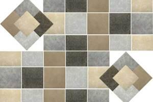 Piso vinílico ganha padrões de pedras