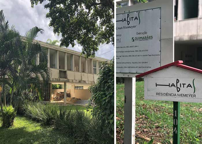 Selo AQUA-HQE para a Casa Niemeyer