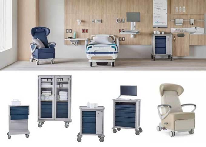 Herman Miller apresenta linha Healthcare no Brasil