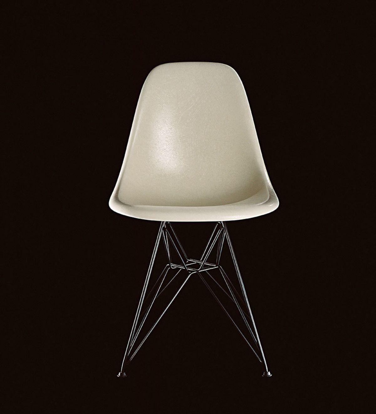 eames fiberglass chair bird knoll artek the from vitra is back parchment mailer