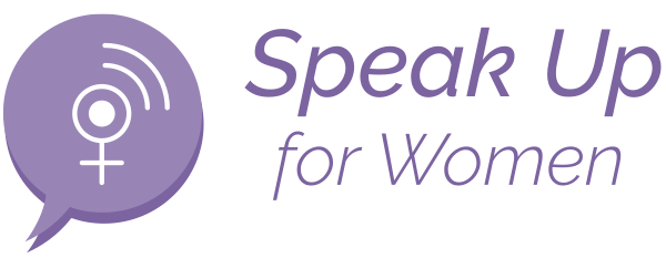 speak up for women