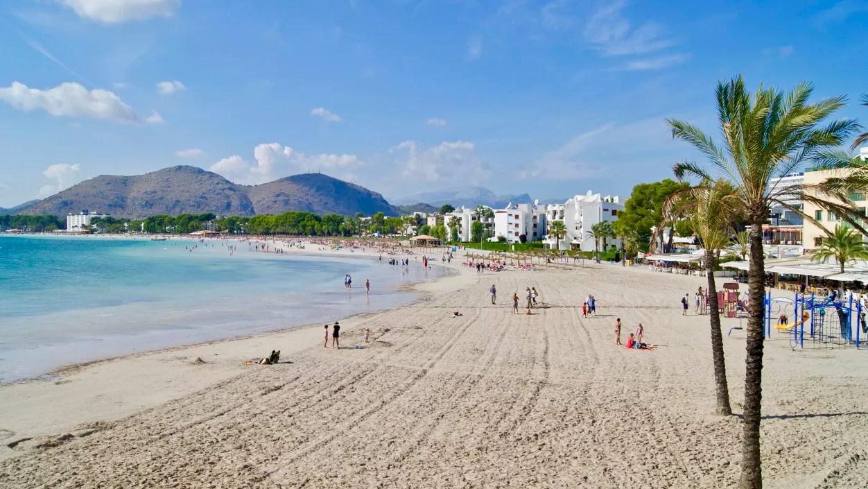 ᐅ playa d alcudia auf mallorca