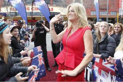 New Zealand's Got Talent judge Rachel Hunter.