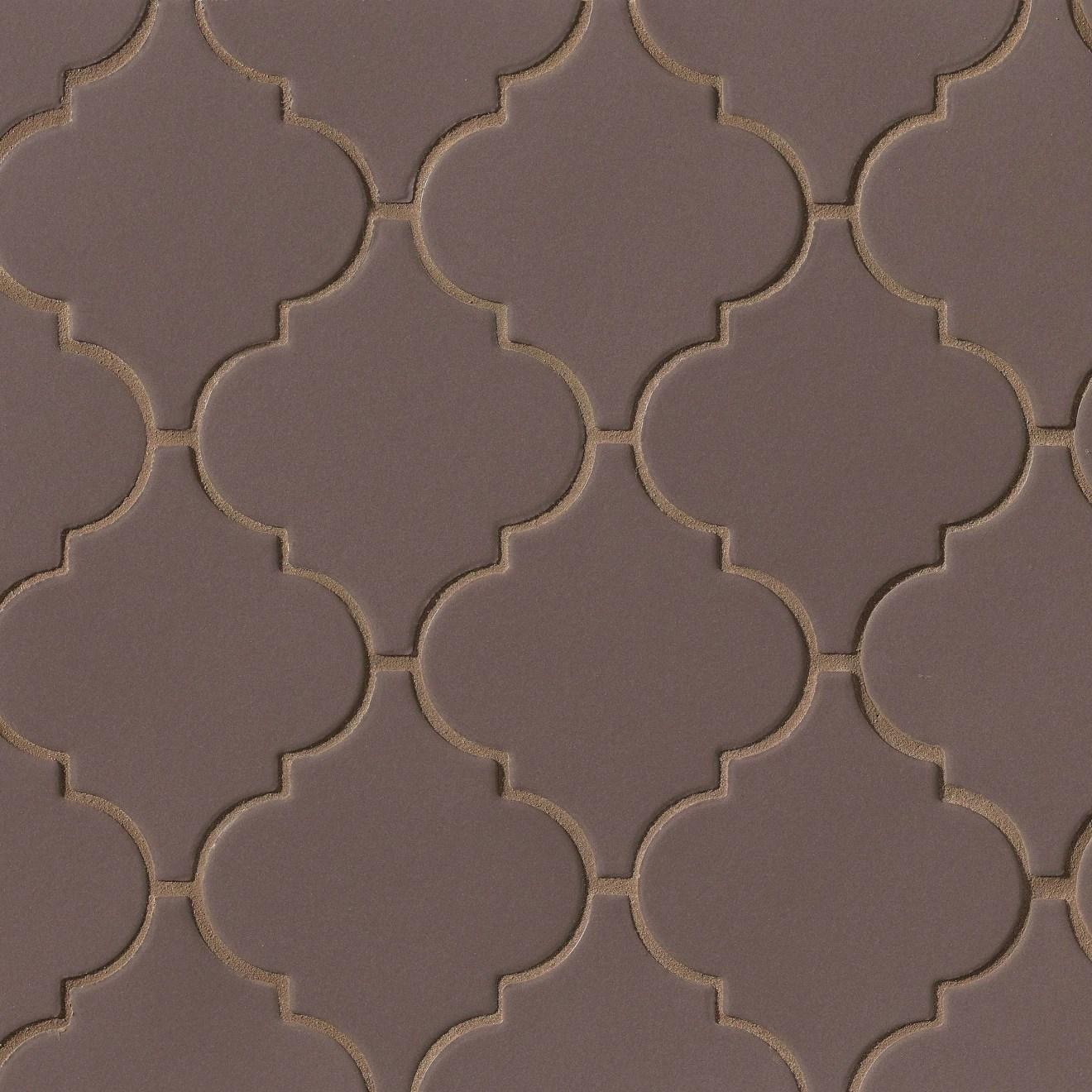 costa allegra matte ceramic arabesco mosaic tile in timber bedrosians tile stone