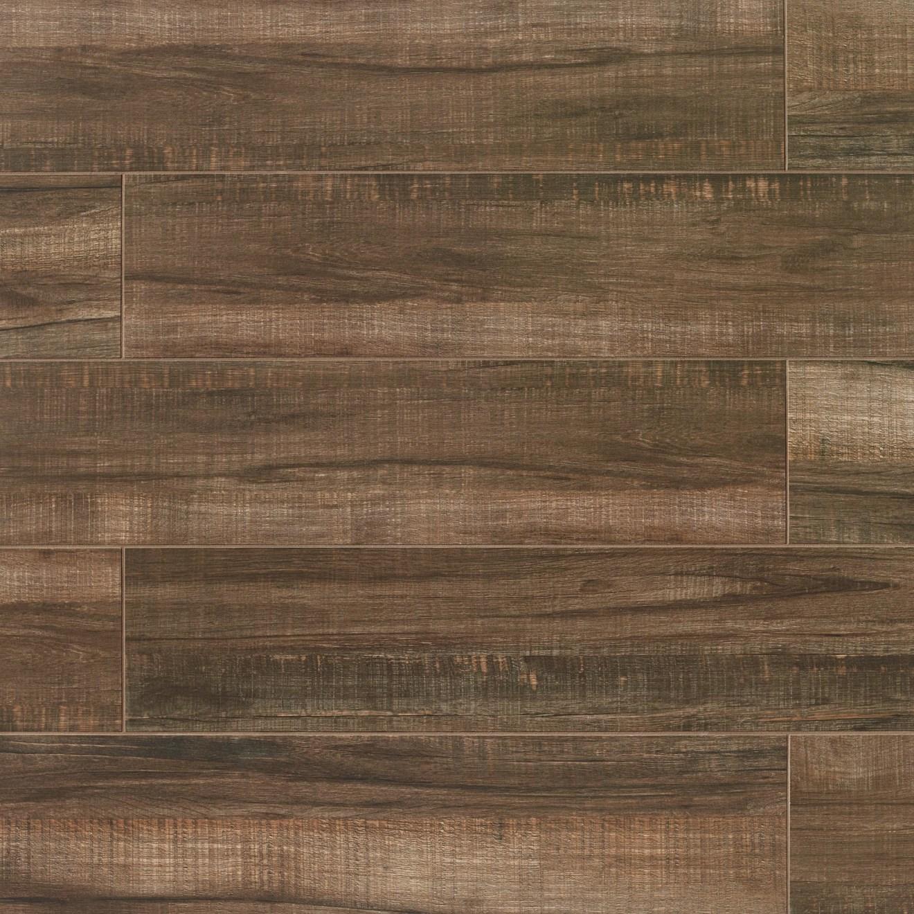 Forest 8 x 36 Floor  Wall Tile in Cherry  Bedrosians
