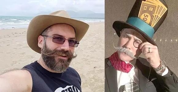 Handlebar Moustache Styles