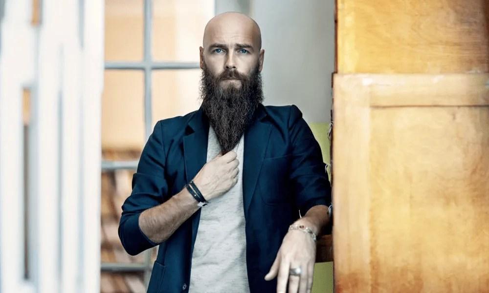 bald heads and beards