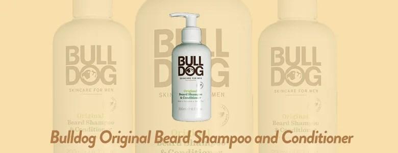 Bulldog Skincare and Grooming For Men Original Beard Shampoo and Conditioner