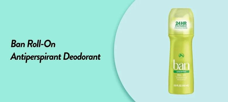 Top rated best antiperspirant deodorant for men