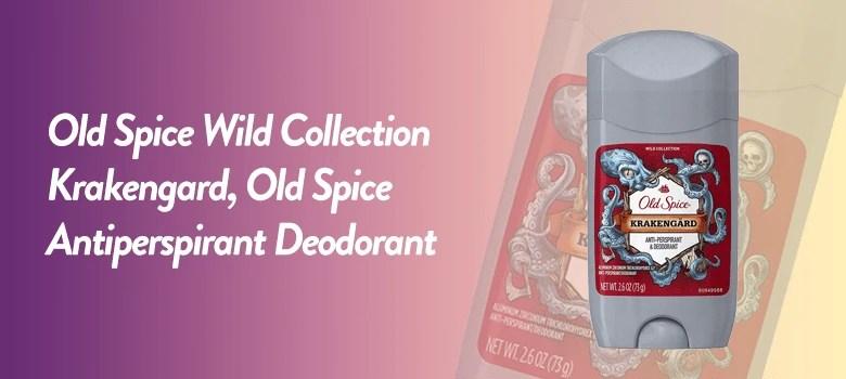 old spice antiperspirant deodorant