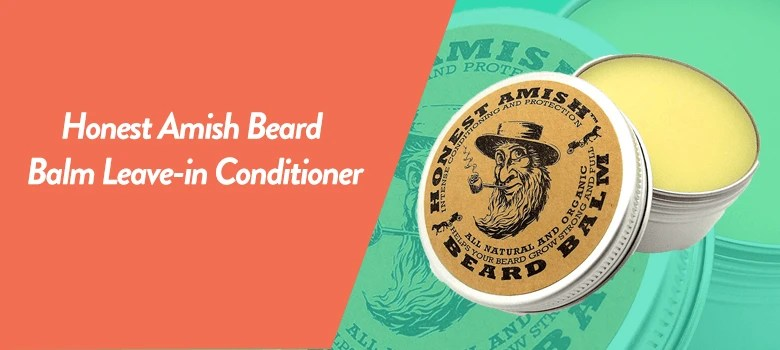 Honest Amish Beard Balm personal hygiene products