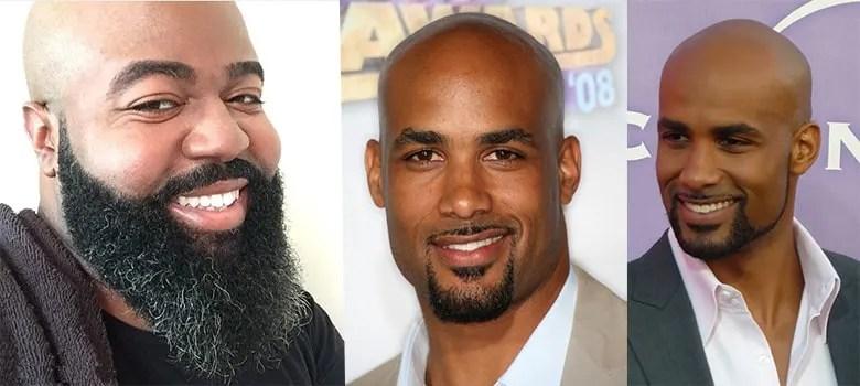 beard styles for bald black men