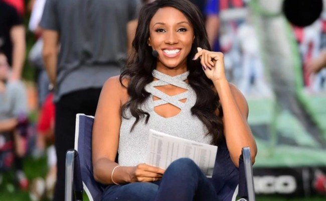 How Espn S Maria Taylor Is Literally Changing The Game