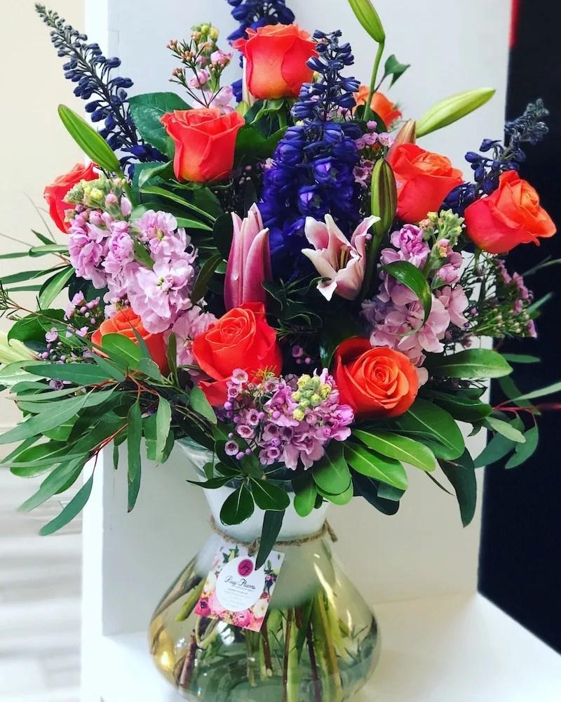 elegant thank you floral