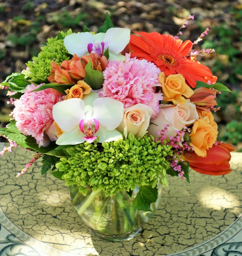 coral reef bouquet