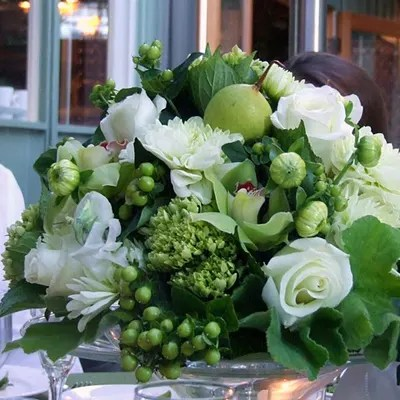 whites roses hydrangeas floral
