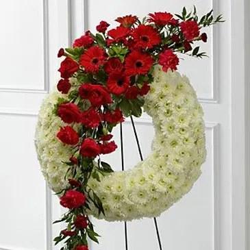 sympathy floral arrangement 1