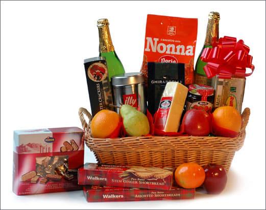 premium gift basket in