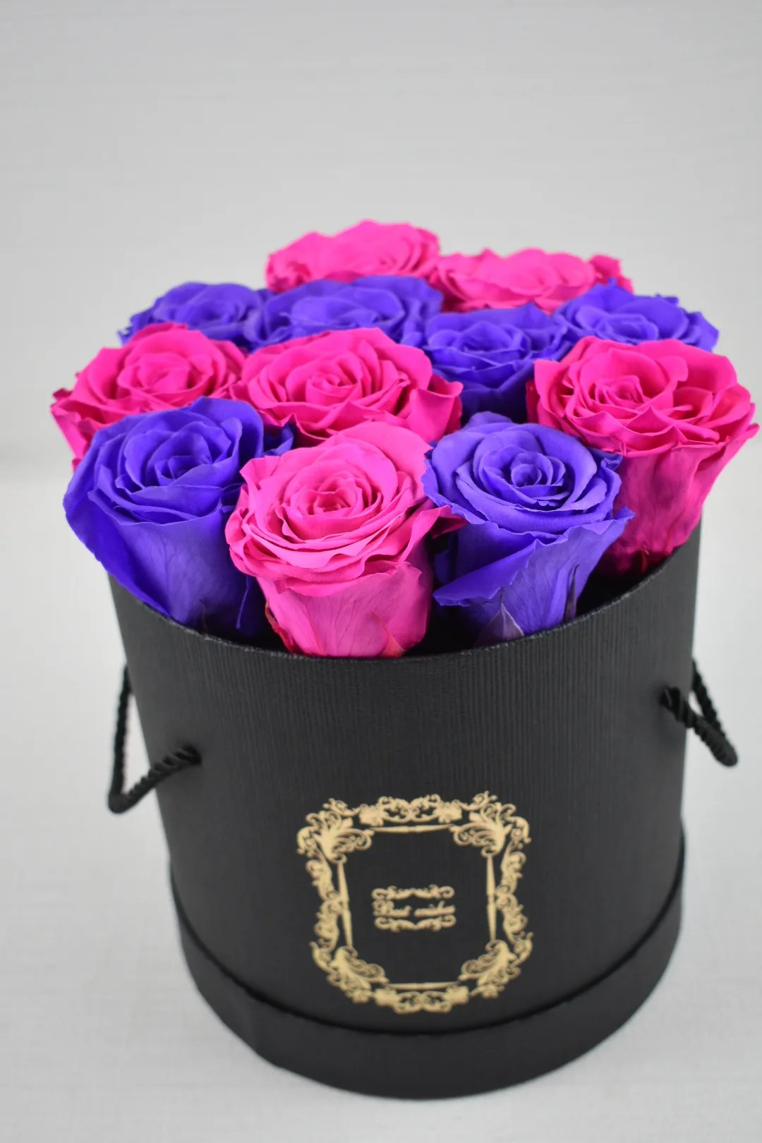 everlasting roses pink and