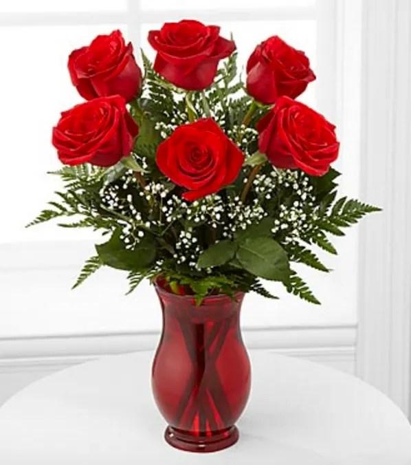 classic romance rose bouquet