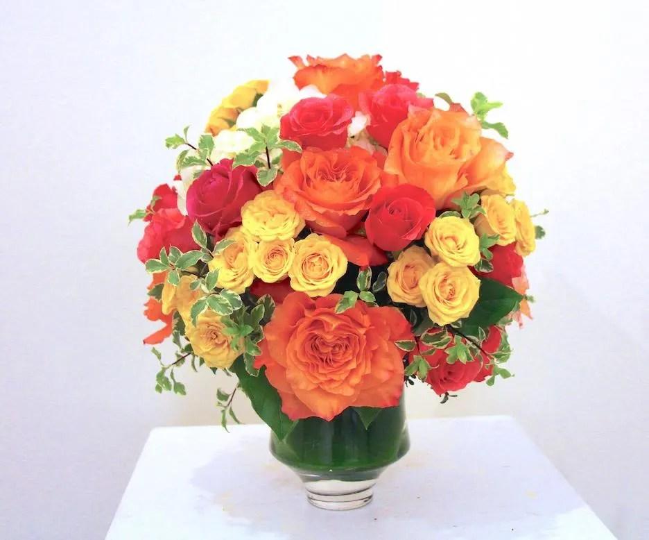 pop of spring floral