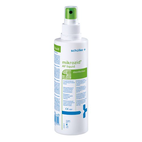 Mikrozid AF Liquid, Surface Disinfectant 250 ml spray bottle
