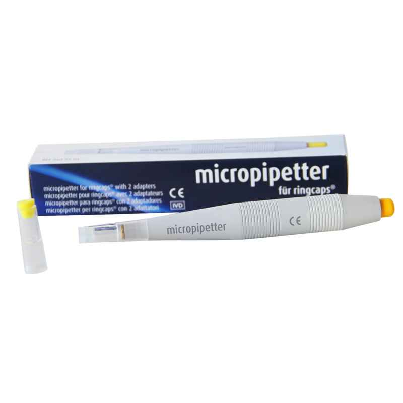 Micropipetter for ringcaps?