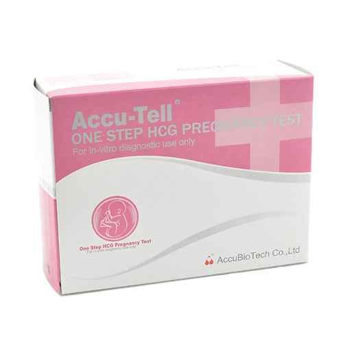 Accu-Tell hCG Pregnancy Test, 20 Tests