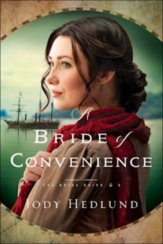 Book cover for A Bride of Convenience (the Bride Ships Book #3) by Jody Hedlund