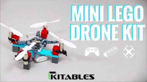 DIY Mini Lego Drone Kit! by Kitables Kickstarter