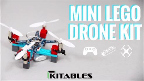 DIY Mini Lego Drone Kit! by Kitables Kickstarter