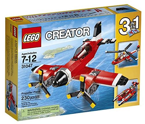 LEGO Creator Propellor Plane 31047