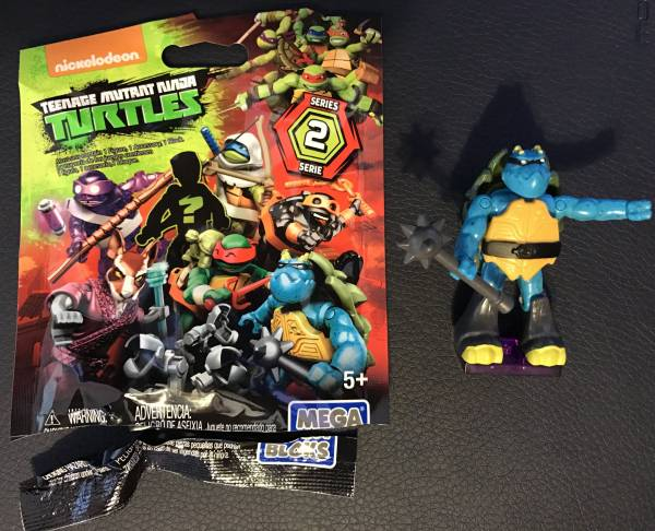 Mega Bloks Mystery Pack Teenage Mutant Ninja Turtles Ralph with Spike Micro Action Figure Series 2