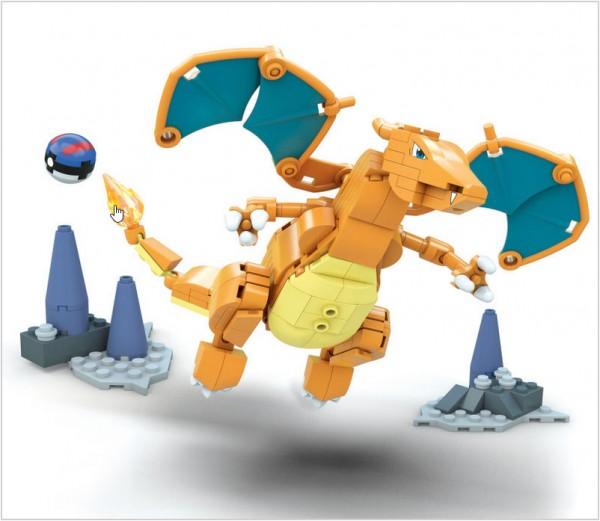 Pokémon Charizard Mega Construx