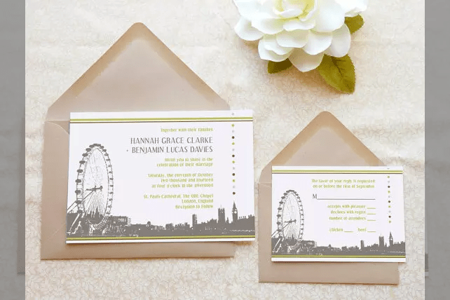 Picture Gallery Luxurious Wedding Invitation Uk