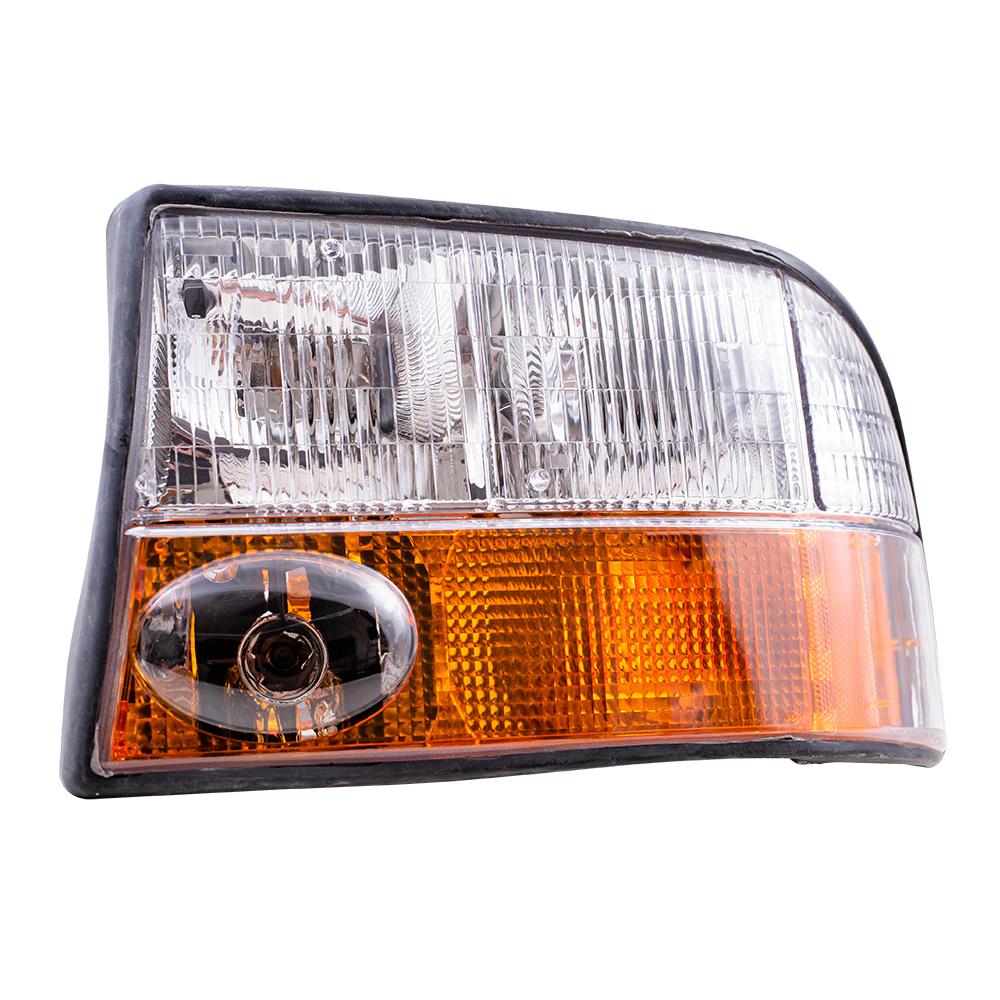 medium resolution of  picture of 98 04 gmc sonoma headlamp assy lh w fog lamp 98